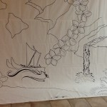 Guernica outline drawings