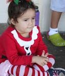 Preschooler at Christmas