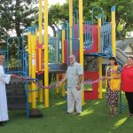Blessing of the kindergarten playground