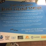 ever Permanent Beach Clean Up Station banner