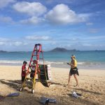 5th grade cleaning kailua beach