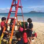 5th grade helps with ever Permanent Beach Clean Up Station
