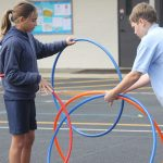 hula hoops at Jump Rope for Heart