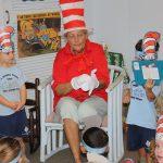 kids enjoying Dr Seuss