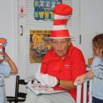 in the middle of our Dr Seuss story