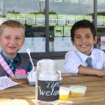 tips welcome at lemonade stand