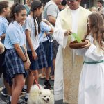 St Anthony School Blessing of the animals