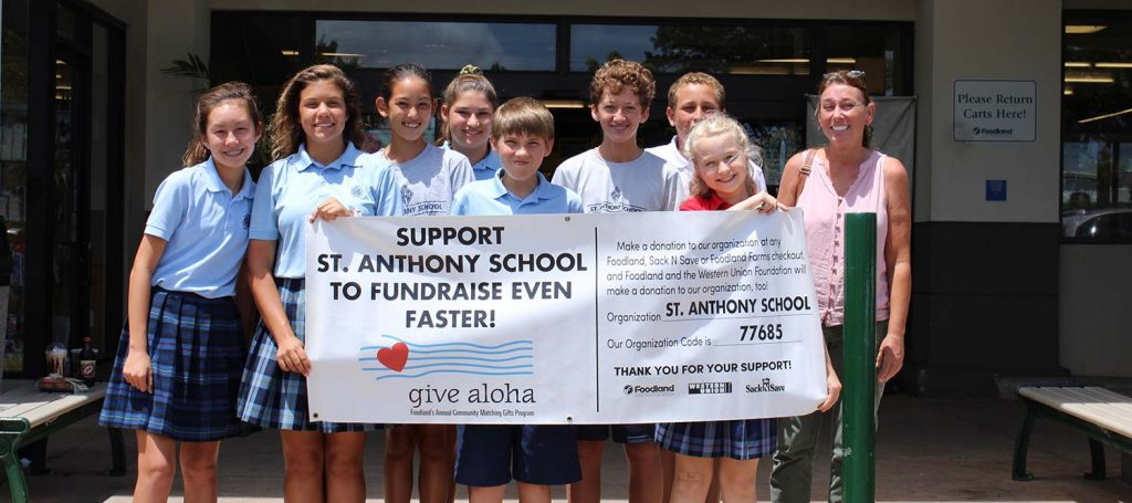 Woodland fundraiser for st anthony school